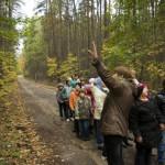 На экскурсии в Приокско-Террасном заповеднике